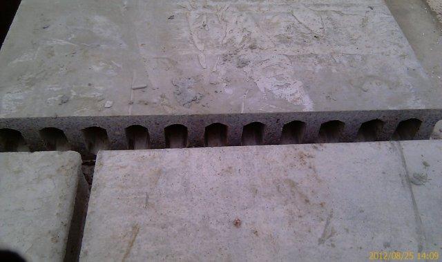 Промежутки между плит будут заполнены раствором