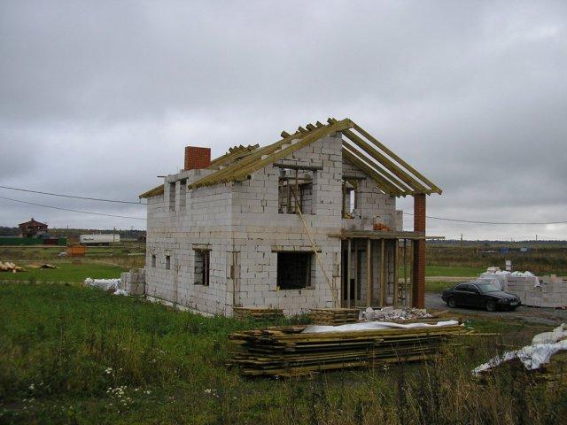Вид дома от штаба