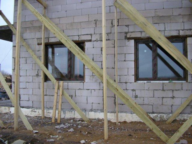 Окно кухни и гостевой комнаты