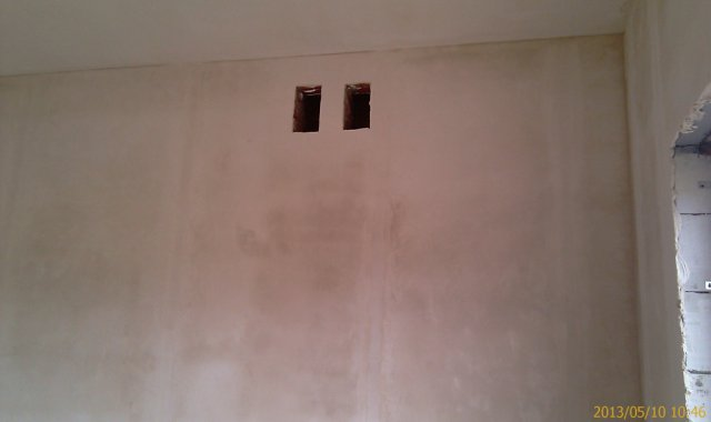 Выравнивание стен с помощью Rotband