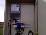 Установлен трехфазный электросчетчик