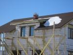 Крыша после первой зимы, март 2012