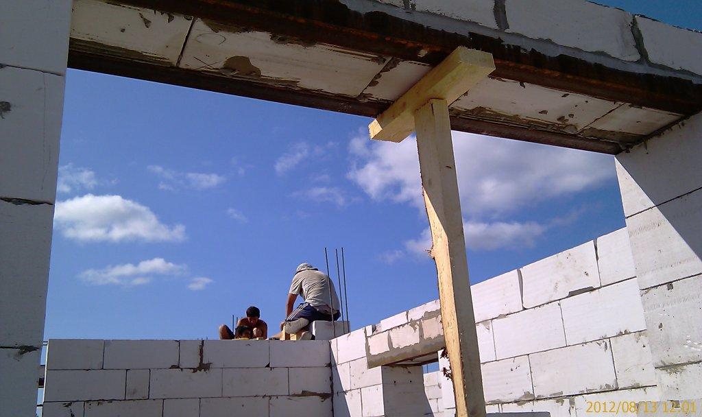 Как построить дом из газобетона  пошаговая инструкция