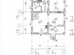 Маркировочный план 1-го этажа проекта коттеджа 53-39