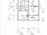 Маркировочный план 2-го (мансардного) этажа проекта коттеджа 53-39