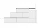 Армирование газоблоков завязано на арматуру угловых бетонных колонн)