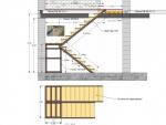 Металлический каркас лестницы (задание для сварщика)