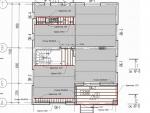 Расположение плит перекрытия, арматуры монолитных перекрытий и плиты балкона (швеллер, уголок)