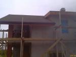 Свесы крыши, подшивка доской