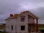 Вырисовывается крыша
