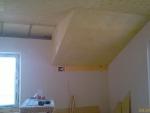 Вот так зашиты все наклонные потолки 2-го этажа