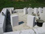 Кладка газобетонных блоков